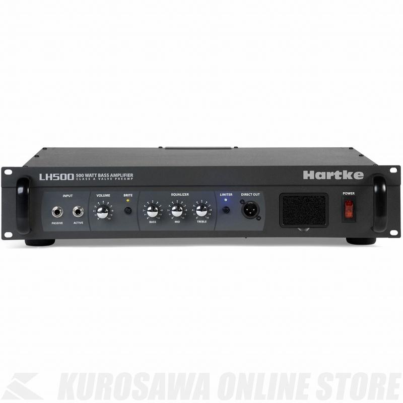Hartke LH500 500W BASS AMP HEAD 《ベースアンプ/ヘッドアンプ》【送料無料】【ONLINE STORE】
