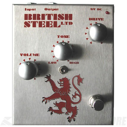 Musician Sound Design / MSD BRITISH STEEL 《エフェクター/オーバードライブ》【送料無料】【ONLINE STORE】