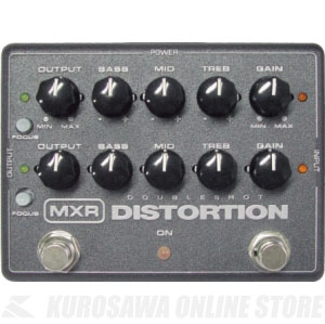 MXR M151R Doubleshot Distortion《エフェクター/ディストーション》【送料無料】【次回入荷分予約受付中】【ONLINE STORE】