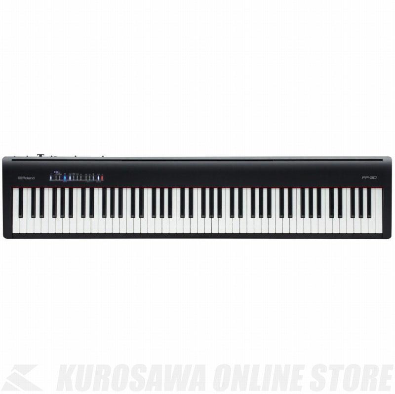 Roland Digital Piano FP-30-BK(ブラック) 《デジタルピアノ》【送料無料】