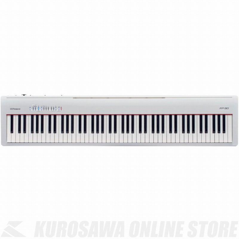 Roland Digital Piano FP-30-WH(ホワイト) 《デジタルピアノ》【送料無料】