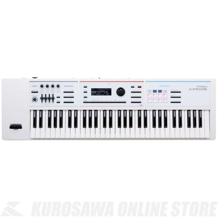 Roland JUNO-DS61W 《シンセサイザー》【送料無料】【数量限定!純正ケースプレゼント!】【ONLINE STORE】