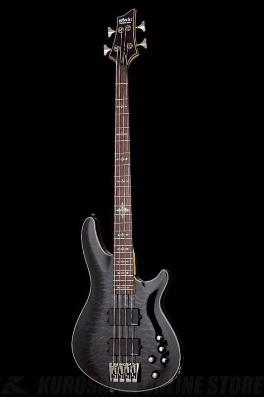 Schecter Diamond Series DAMIEN ELITE 4 See-Thru Black(STBK)[AD-DM-EL-4/STBK]《ベース》【送料無料】【ONLINE STORE】