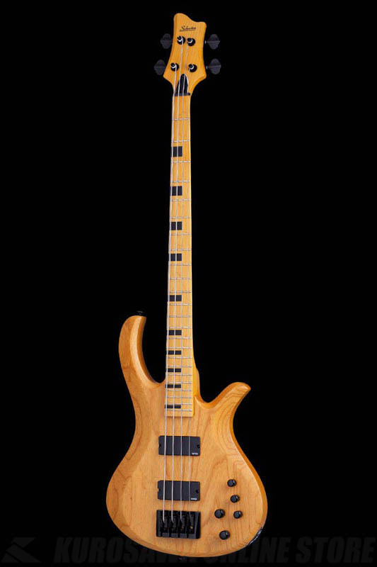 Schecter Diamond Series RIOT SESSION 4 Aged Natural Satin(ANS)[AD-SL-SS4/ANS]《ベース》【送料無料】【ONLINE STORE】