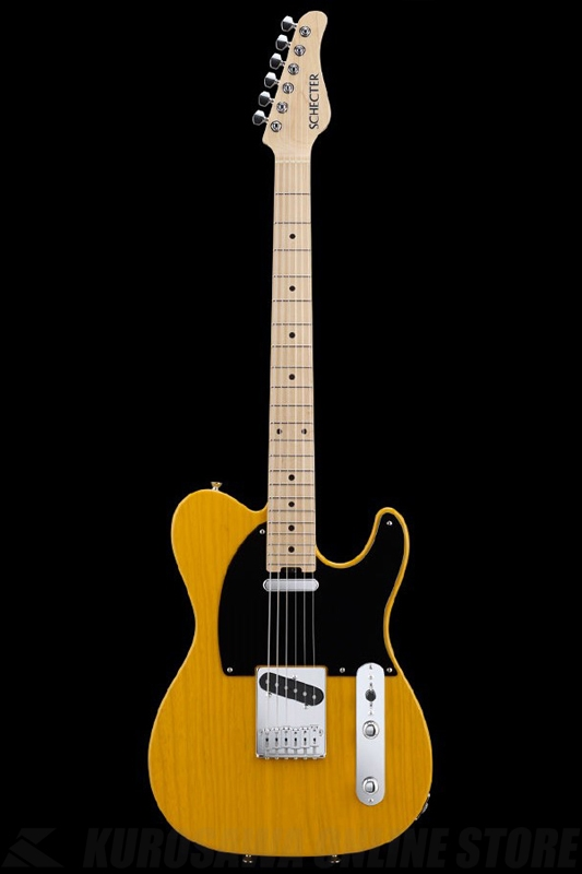 SCHECTER N Series N-PT-AS-BTS (Butter Scotch / Maple)《エレキギター》【送料無料】【ONLINE STORE】