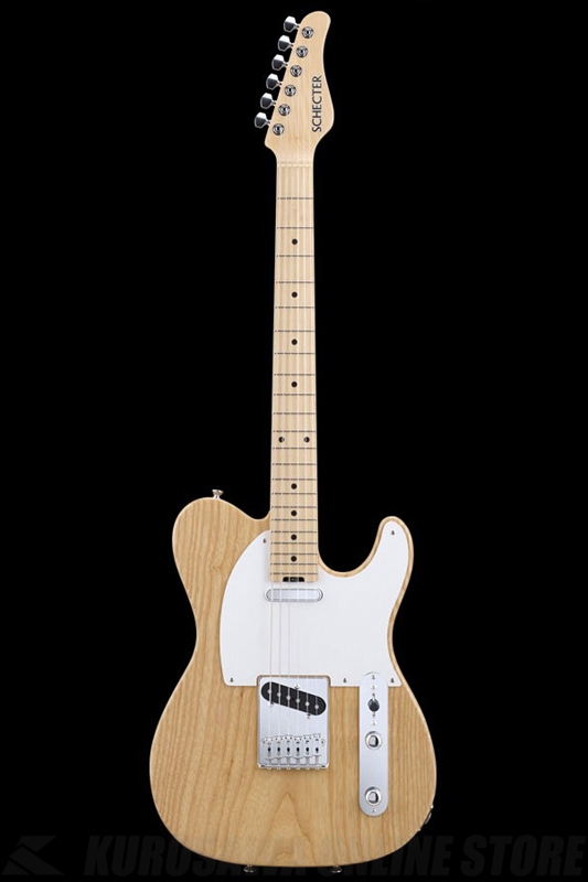 SCHECTER N Series N-PT-AS-NTL (Natural / Maple)《エレキギター》【送料無料】【ONLINE STORE】