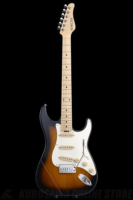 SCHECTER N Series N-ST-AL-TSB (Tobacco Sunburst / Maple)《エレキギター》【送料無料】【ONLINE STORE】