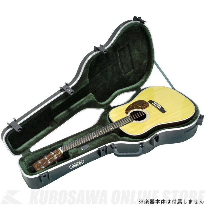 SKB Acoustic Dreadnought Deluxe Guitar Case [1SKB-18]《アコースティックギターケース》【送料無料】【ONLINE STORE】