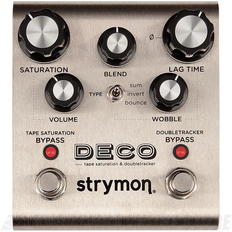 Strymon DECO TAPE Saturatio & Doubletracker 《エフェクター/テープサチュレーション/ダブルトラッカーエミュレーター/ディレイ》【送料無料】【ONLINE STORE】
