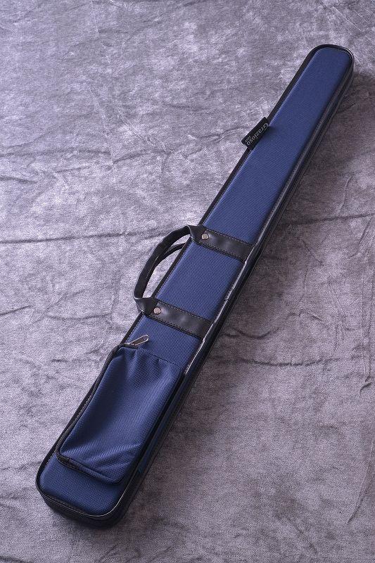 ポケット付き ギフト プレゼント ご褒美 ファスナー付き コントラバス用弓ケース 一本用 Grazioso 新品 日本総本店コントラバスフロア在庫品 ブルー ''ジャーマン弓ケース'' ご予約品 入荷しました