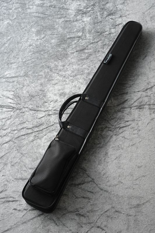 アウトレット ポケット付き 2020秋冬新作 ファスナー付き コントラバス用弓ケース 一本用 Grazioso 日本総本店コントラバスフロア在庫品 入荷しました ''ジャーマン弓ケース'' 新品 ブラック