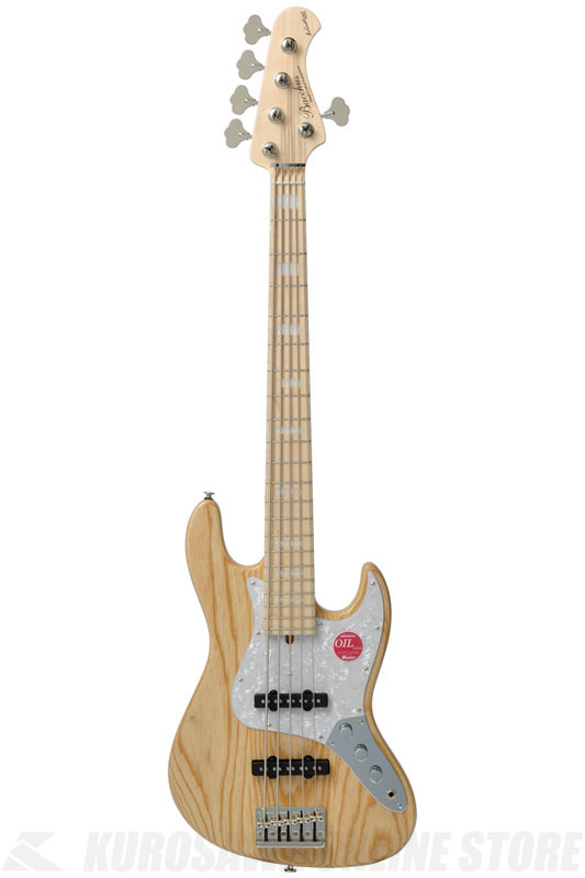 BACCHUS Craft Series Electric Bass WL5-ASH (NA/OIL/Maple)《ベース》【送料無料】【数量限定特価】【お取り寄せ】【ONLINE STORE】