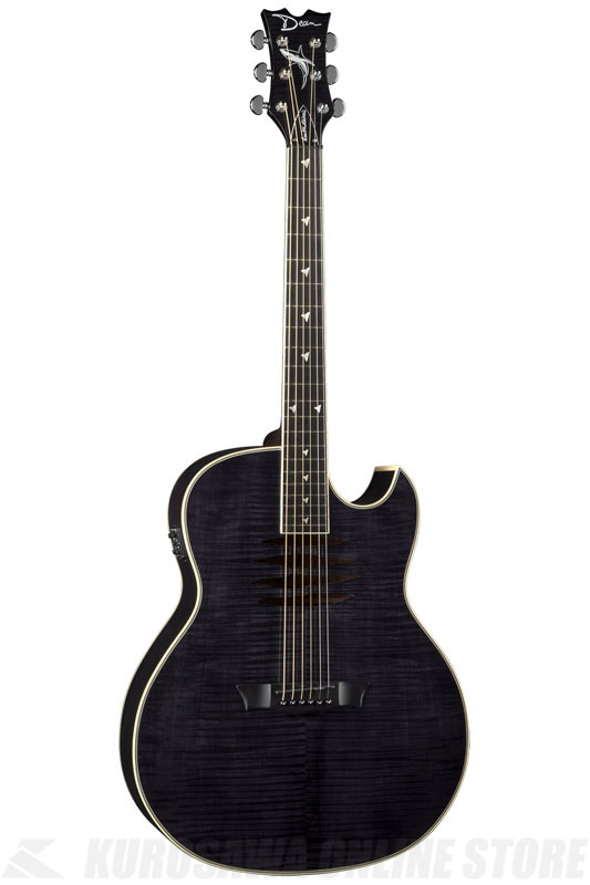 Dean Mako Dave Mustaine A/E Flame Top - TBK [MAKO TBK]《アコースティックギター/エレアコ》【送料無料】【お取り寄せ】【ONLINE STORE】