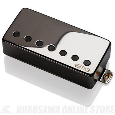 EMG ACTIVE HUMBUCKING PICKUPS 57-7H 〔7string Metal Cap Active Pickup - Bridge〕(Black Chrome)《エレキギター用ピックアップ/ハムバッカータイプ》【ONLINE STORE】