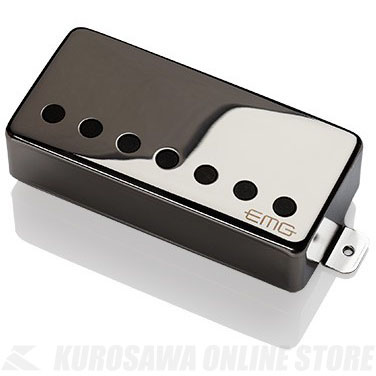 EMG ACTIVE HUMBUCKING PICKUPS 57-7H 〔7string Metal Cap Active Pickup - Bridge〕(Chrome)《エレキギター用ピックアップ/ハムバッカータイプ》【ONLINE STORE】