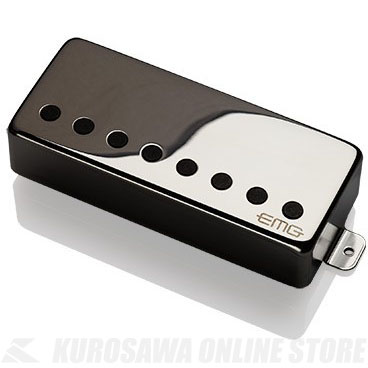 EMG ACTIVE HUMBUCKING PICKUPS 57-8H 〔8string Metal Cap Active Pickup - Bridge〕(Chrome)《エレキギター用ピックアップ/ハムバッカータイプ》【ONLINE STORE】