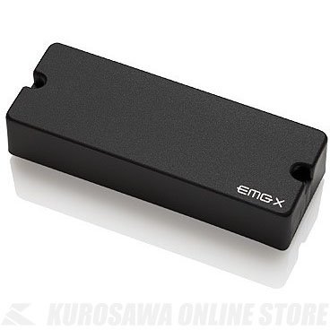 EMG X-SERIES HUMBUCKING PICKUPS 60-8X 〔8string Active Pickup〕(Black)《エレキギター用ピックアップ/ハムバッカータイプ》【ONLINE STORE】