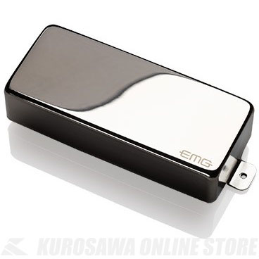 EMG X-SERIES HUMBUCKING PICKUPS 60-8XH 〔8string Metal Cap Active Pickup〕(Chrome)《エレキギター用ピックアップ/ハムバッカータイプ》【ONLINE STORE】