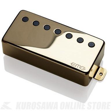EMG ACTIVE HUMBUCKING PICKUPS 66-7H 〔7string Metal Cap Active Pickup - Neck〕(Gold)《エレキギター用ピックアップ/ハムバッカータイプ》【ONLINE STORE】