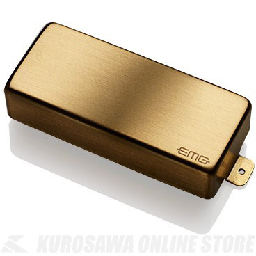 EMG ACTIVE HUMBUCKING PICKUPS 66-8H 〔8string Metal Cap Active Pickup - Neck〕(Brushed Gold)《エレキギター用ピックアップ/ハムバッカータイプ》【ONLINE STORE】