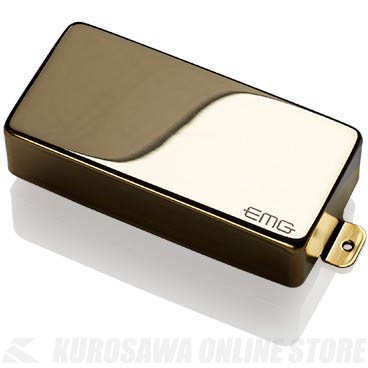 EMG ACTIVE HUMBUCKING PICKUPS 81-7H 〔7string Metal Cap Active Pickup〕(Gold)《エレキギター用ピックアップ/ハムバッカータイプ》【ONLINE STORE】