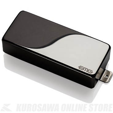 EMG ACTIVE HUMBUCKING PICKUPS 81-8H 〔8string Metal Cap Active Pickup〕(Black Chrome)《エレキギター用ピックアップ/ハムバッカータイプ》【ONLINE STORE】