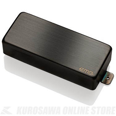 EMG X-SERIES HUMBUCKING PICKUPS 81-8XH 〔8string Metal Cap Active Pickup〕(Brushed Black Chrome)《エレキギター用ピックアップ/ハムバッカータイプ》【ONLINE STORE】