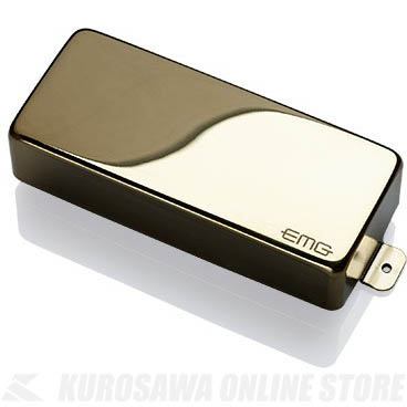 EMG X-SERIES HUMBUCKING PICKUPS 81-8XH 〔8string Metal Cap Active Pickup〕(Gold)《エレキギター用ピックアップ/ハムバッカータイプ》【ONLINE STORE】