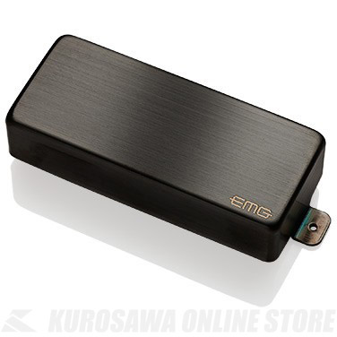 EMG ACTIVE HUMBUCKING PICKUPS 85-8H 〔8string Metal Cap Active Pickup〕(Brushed Black Chrome)《エレキギター用ピックアップ/ハムバッカータイプ》【ONLINE STORE】
