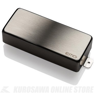 EMG ACTIVE HUMBUCKING PICKUPS 85-8H 〔8string Metal Cap Active Pickup〕(Brushed Chrome)《エレキギター用ピックアップ/ハムバッカータイプ》【ONLINE STORE】