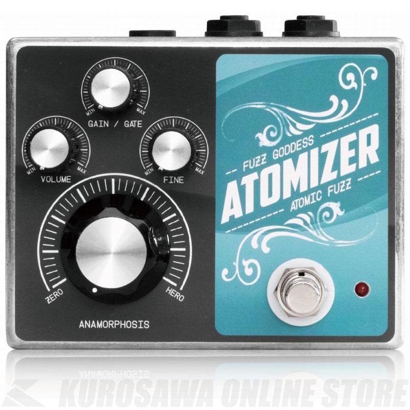 新しい Fuzz Goddess ATOMIZER Goddess 4K 《エフェクター ATOMIZER/ファズ》【送料無料】【お取り寄せ STORE】】【ONLINE STORE】, 彦一本舗:e1acc022 --- fencepanelgrips.co.uk