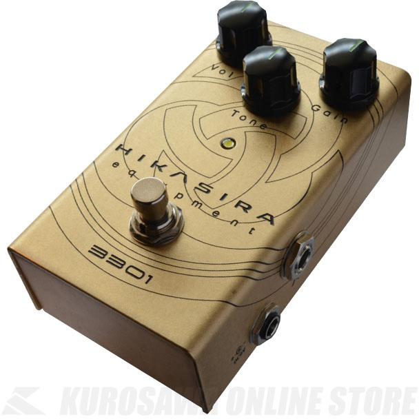 HIKASIRA equipment 3301 True Drive 《エフェクター/オーバードライブ》【送料無料】(ご予約受付中)【ONLINE STORE】
