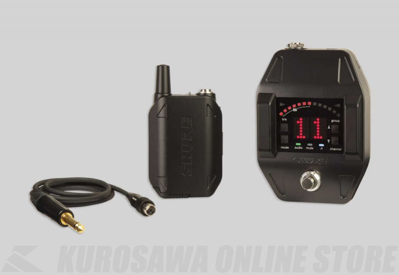 SHURE GLX-D Baggable Systems GLXD16 ボディパック型 / ギターペダルワイヤレスシステム [GLXD16] 【送料無料】【ONLINE STORE】