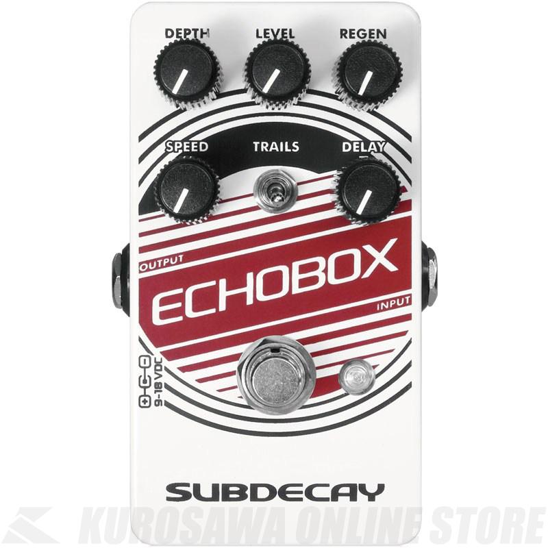 SUBDECAY Echobox V2 《エフェクター/ディレイ》【送料無料】【ONLINE STORE】