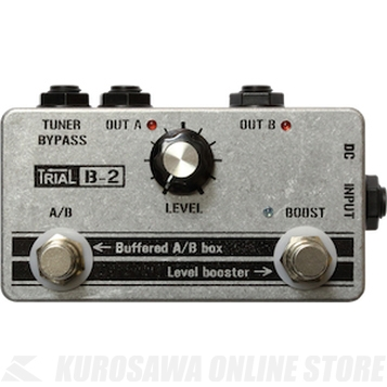 Trial B-2 / Buffer / Level booster/ AB Selector 《エフェクター/バッファー/ブースター/セレクター》【送料無料】【ONLINE STORE】