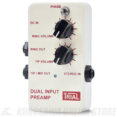 Trial DUAL INPUT PREAMP / Acoustic Preamp(Blend Type) 《アコースティックプリアンプ》【送料無料】【ONLINE STORE】