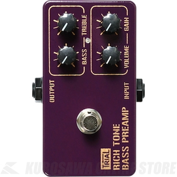 Trial RICH TONE BASS / BASS PREANP/DRIVER 《エフェクター/ベース用プリアンプ/オーバードライブ》【送料無料】【ONLINE STORE】