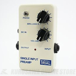 Trial SINGLE INPUT PREAMP / Acoustic Preamp 《アコースティックプリアンプ》【送料無料】【ONLINE STORE】