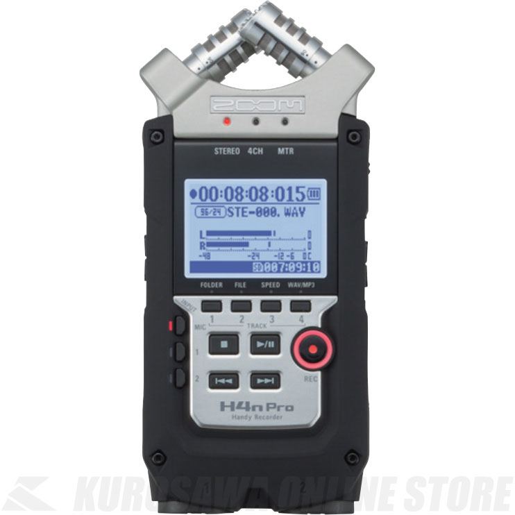 ZOOM Handy Recorder H4n Pro 《ハンディレコーダー》【送料無料】【ONLINE STORE】