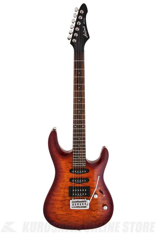 Ariapro II MA Series MAC-50QT I MA AMB(Amber Brown) 《エレキギター》【送料無料】【ONLINE STORE】