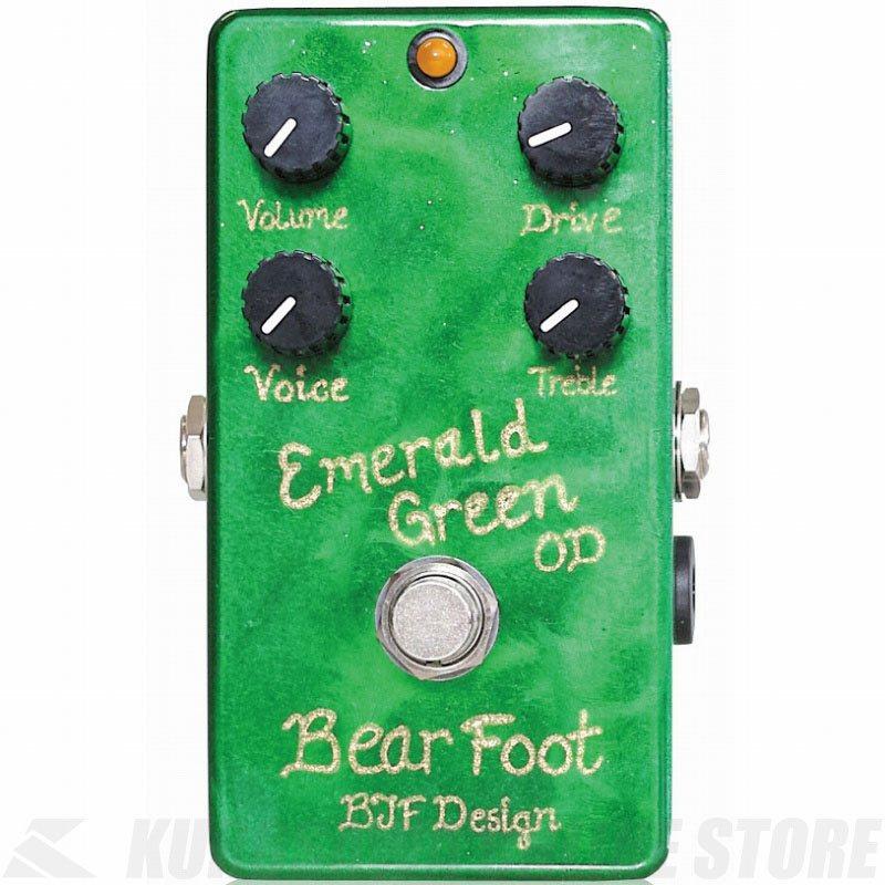 BearFoot Guitar Effects Emerald Green Overdrive《エフェクター/オーバードライブ》【送料無料】【ONLINE STORE】