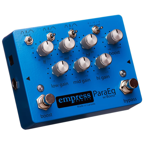 Empress Effects ParaEQ EQ w/ Boost Pedal 《エフェクター/イコライザー/ブースター》【送料無料】【ONLINE STORE】
