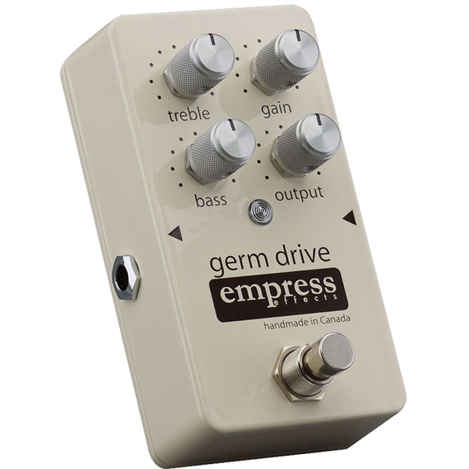 Empress Effects Germ Drive Germanium Overdrive Pedal 《エフェクター/オーバードライブ》【送料無料】【ONLINE STORE】
