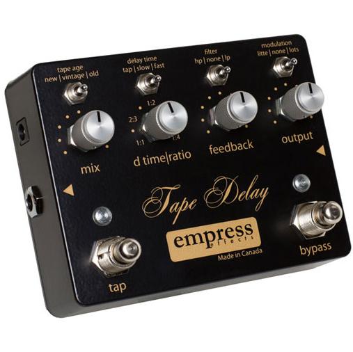 Empress Effects Tape Delay Tape Sound Delay 《エフェクター/ディレイ》【送料無料】(ご予約受付中)【ONLINE STORE】