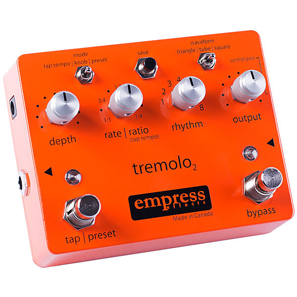 Empress Effects Tremolo2 Tap Tempo Tremolo 《エフェクター/トレモロ》【送料無料】【ONLINE STORE】