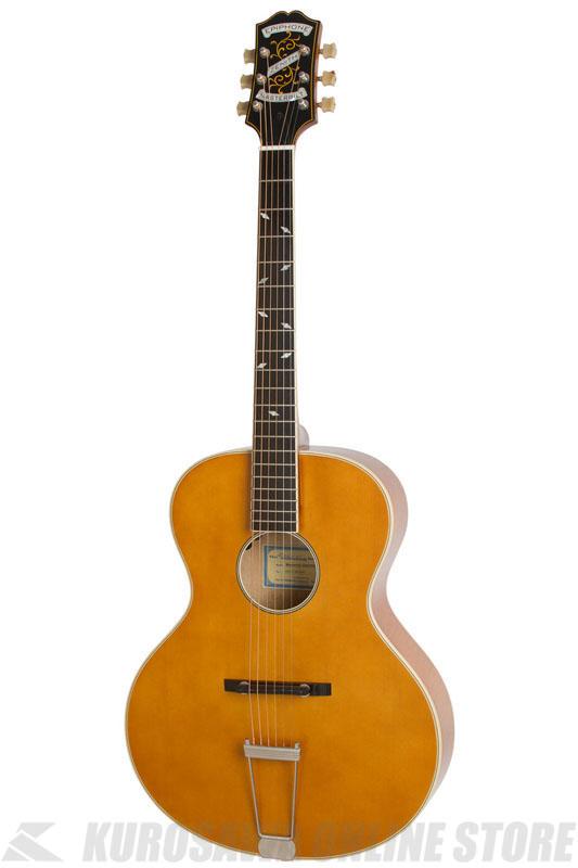 Epiphone Masterbilt Zenith Acoustic/Electric Guitar (Vintage Natural)[ETZ1VNNH1]《アコースティックギター/エレアコ》【送料無料】【ONLINE STORE】