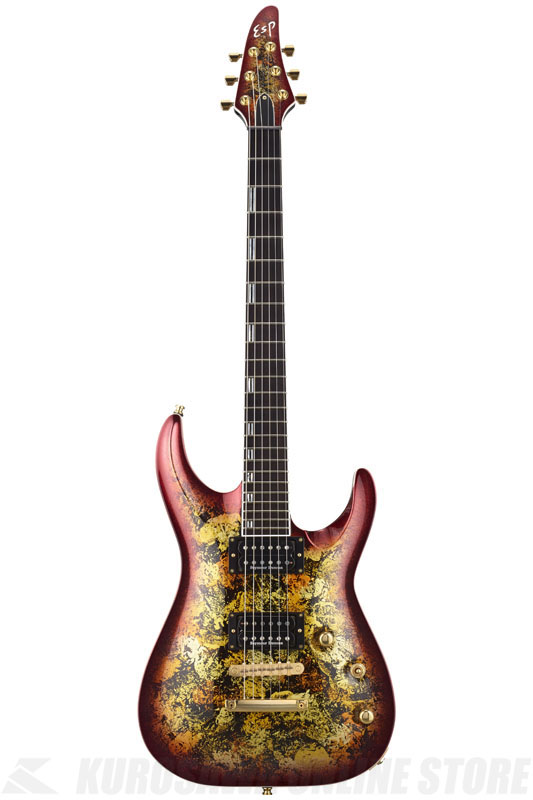 ESP HORIZON-PT NT Fireopal (Red Pearl Black) 《エレキギター》【受注生産品】【送料無料】【ONLINE STORE】