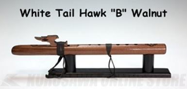 High Spirits Flutes ホワイトテール・ホーク 112-W key/B ウォルナット材 450mm 《インディアンフルート》【送料無料】【ONLINE STORE】