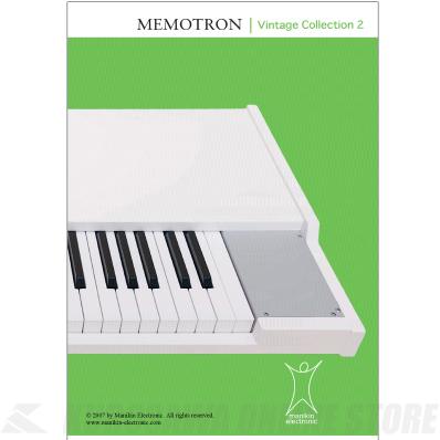 Manikin Electronic Vintage Collection 2《Memotronシリーズ専用サウンドライブラリ》【ONLINE STORE】