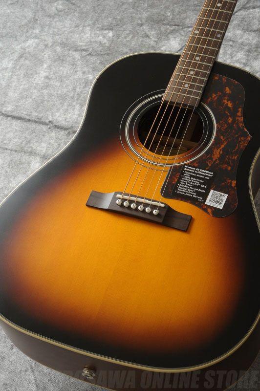 Epiphone Masterbilt AJ-45ME Acoustic/Electric Vintage Sunburst [EME4VSSNH1] (アコースティックギター/エレアコ)(ご予約受付中)【ONLINE STORE】